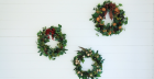 Luxury Artificial Christmas Wreath Making Workshop