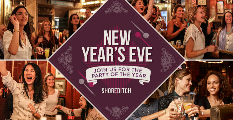 New Year's Eve at Flight Club Shoreditch