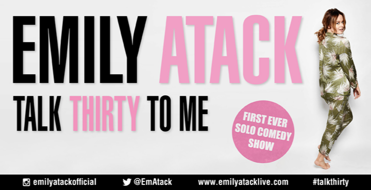 Emily Atack: Talk Thirty To Me