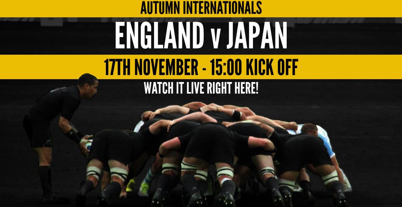 13889e79258 England v Japan - Autumn Internationals 2018 - Rugby | West End ...