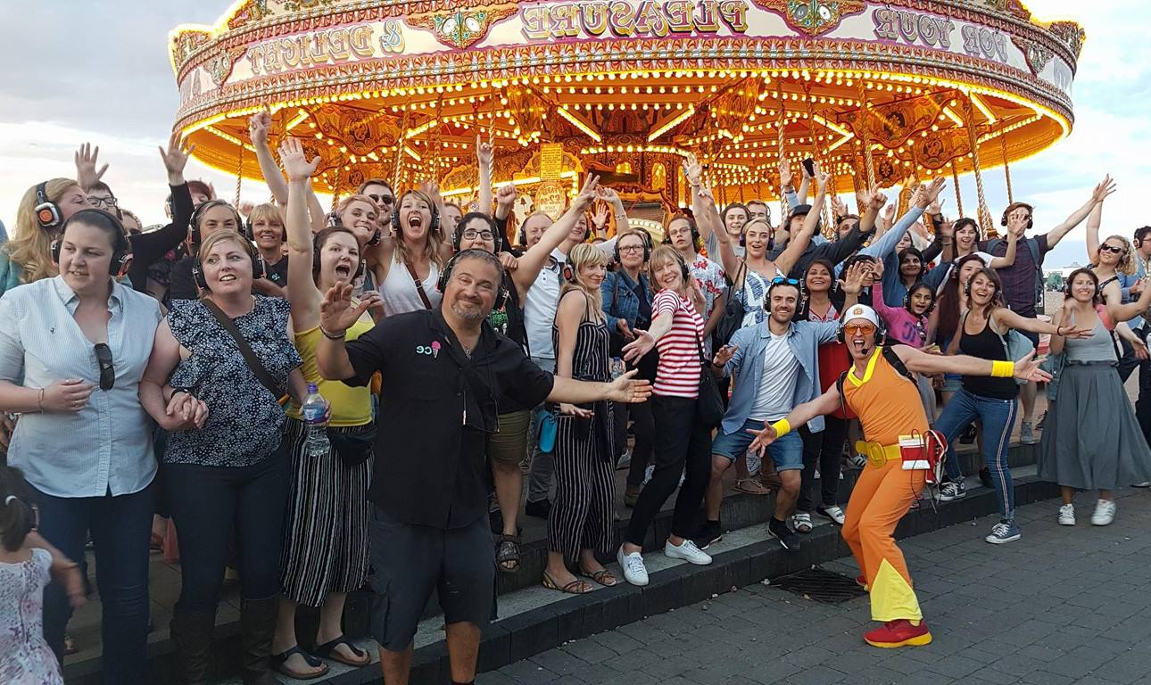 Guru Dudu's Silent Disco Tours of Brighton