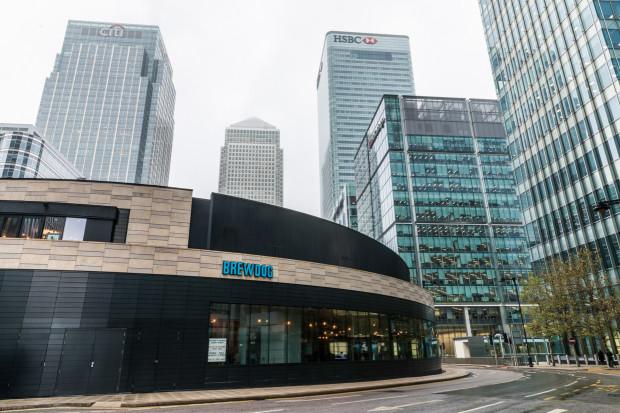 BrewDog Canary Wharf | London Bar Reviews | DesignMyNight
