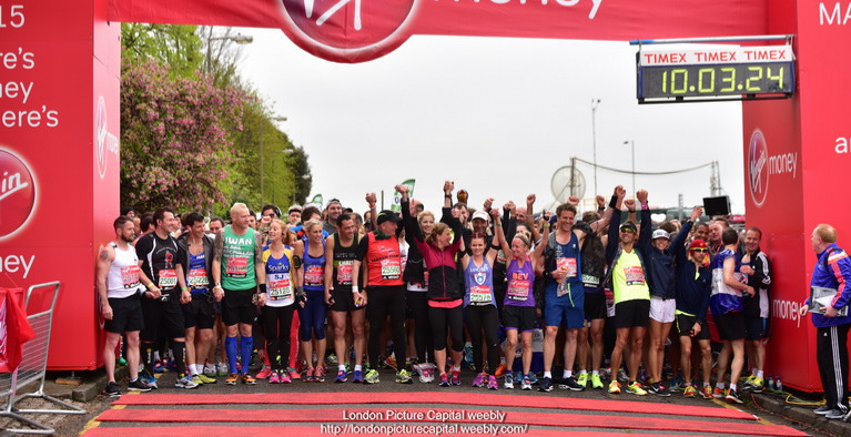 The Magic of the London Marathon - Running Tour of London