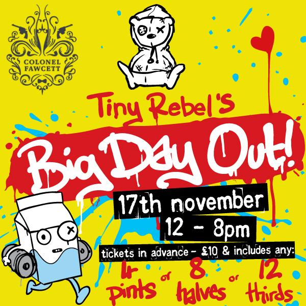 TINY REBEL'S BIG DAY OUT