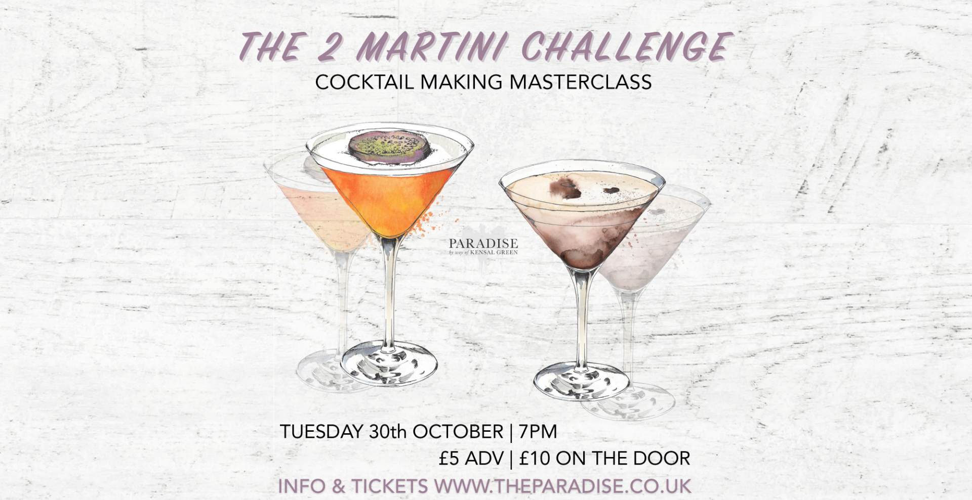 The 2 Martini Challenge - Cocktail Masterclass