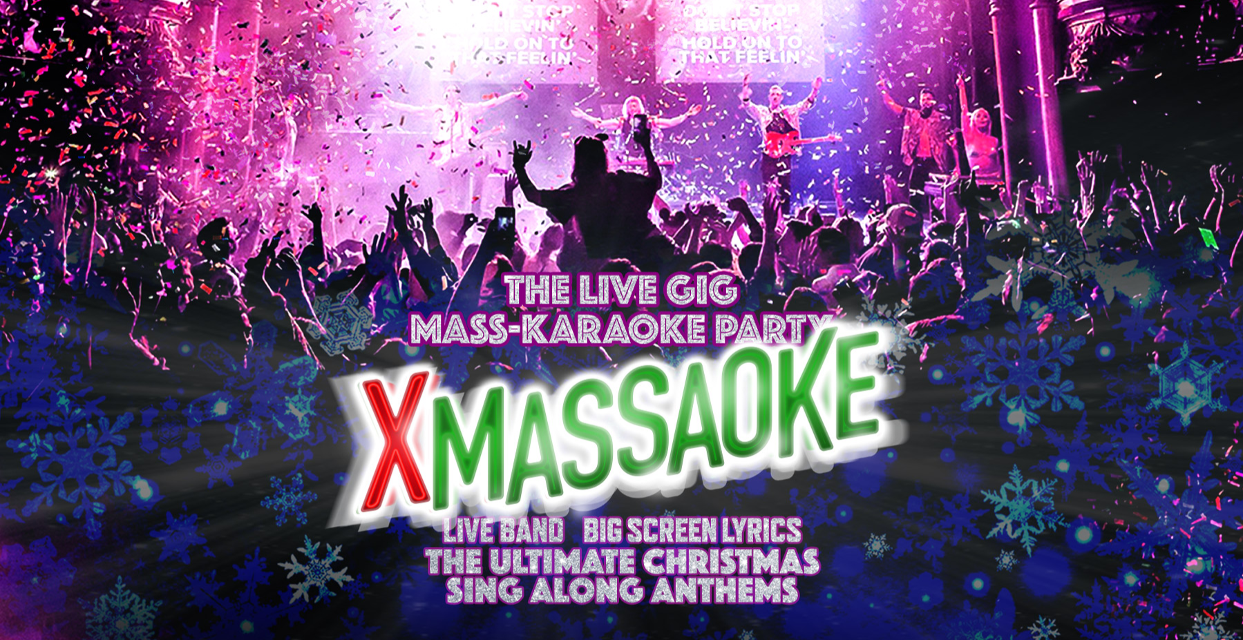 Massaoke Christmas Party