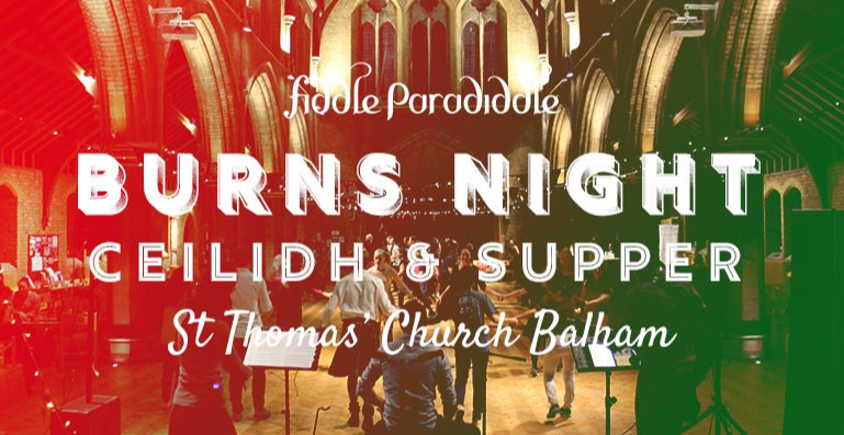 Burns' Ceilidh Night and Supper – Balham