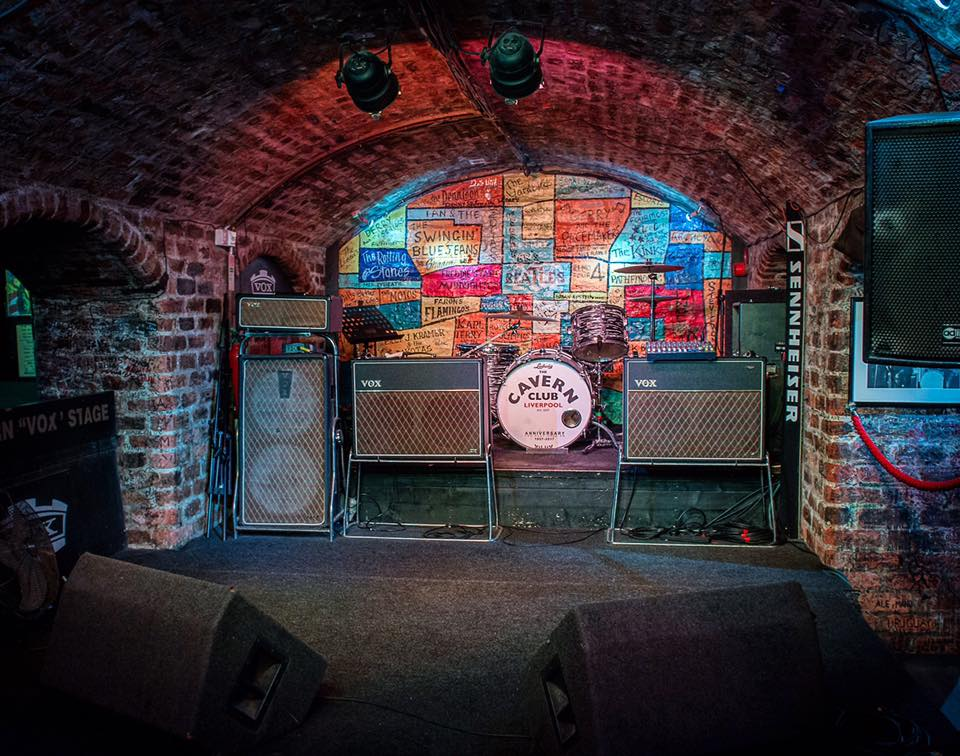 The Cavern Club Front Stage