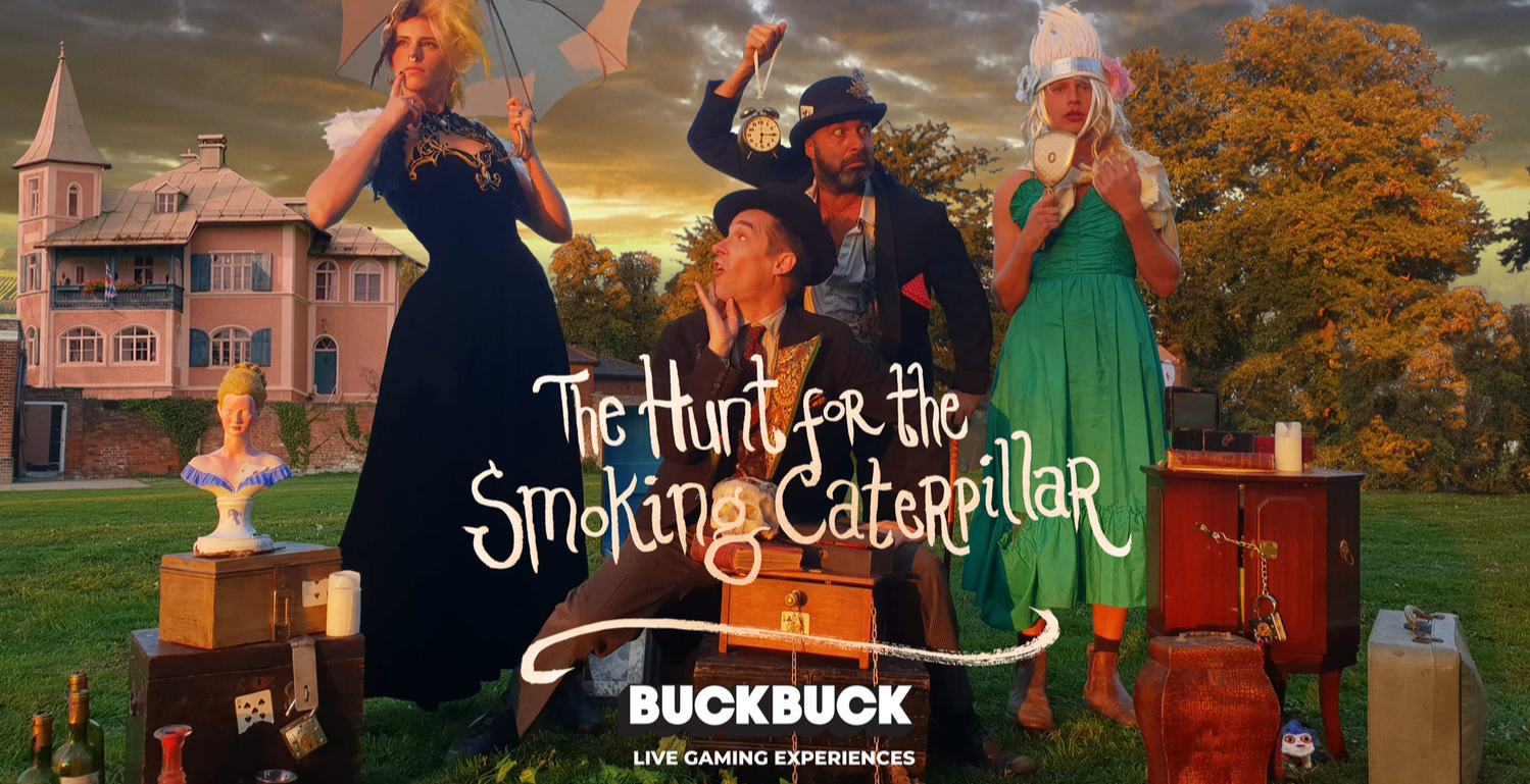 Drink Me & Play: Hunt for The Smoking Caterpillar