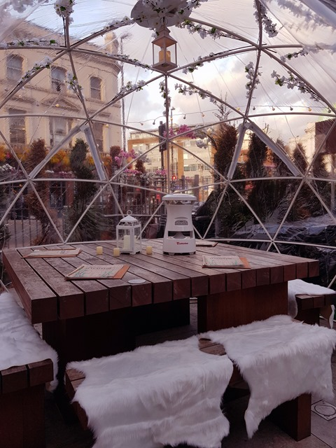 Inamo Dining Pods & Winter Garden