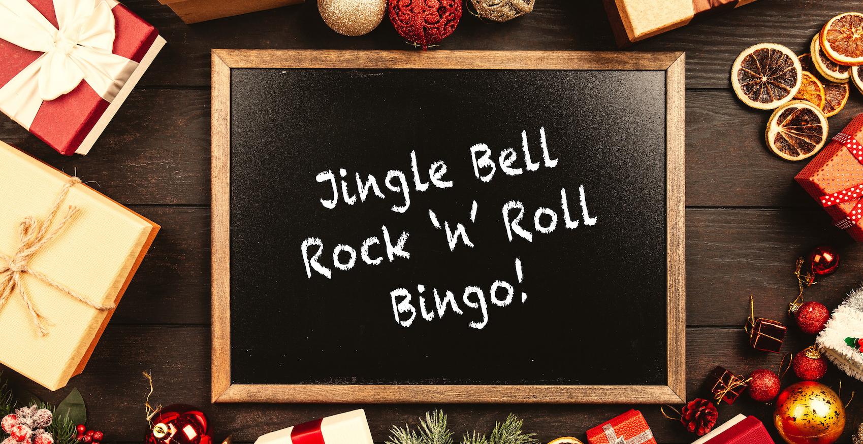 Jingle Bell Rock 'n' Roll Bingo