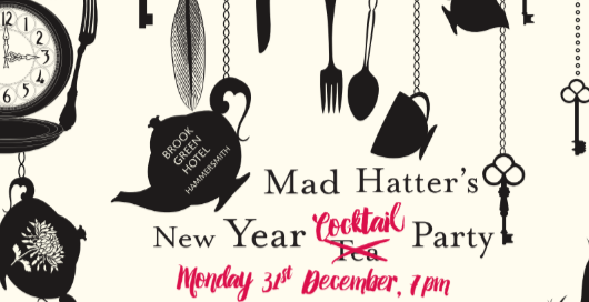 Mad Hatter's New Year Cocktail Party!