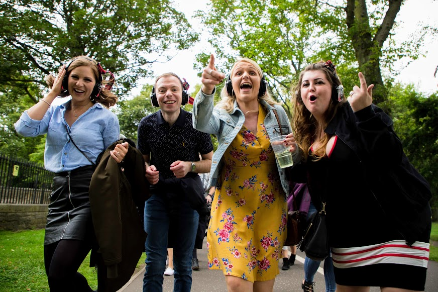Boogie Shoes Original Silent Disco Walking Tours London