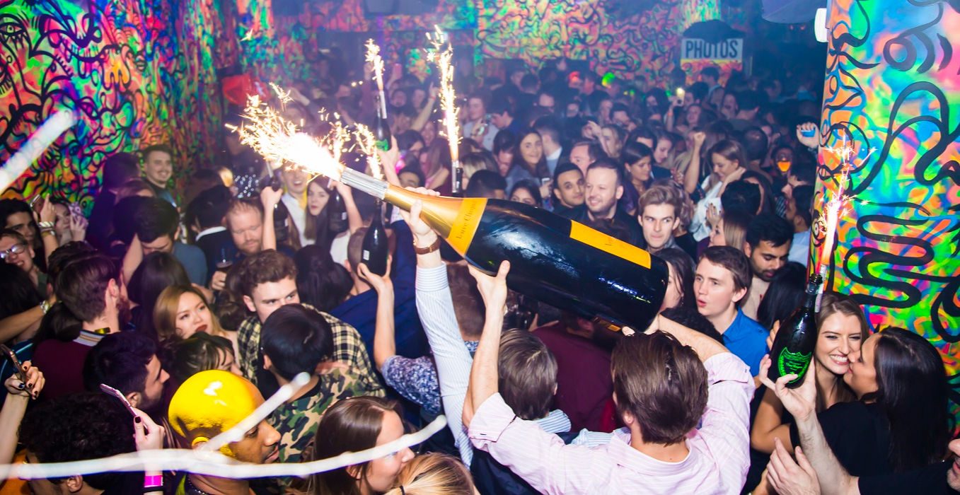 Ballie Ballerson Soho - New Year's Eve Glitter Ball Out + Buy One Get One Free Drinks Before 10.30pm!