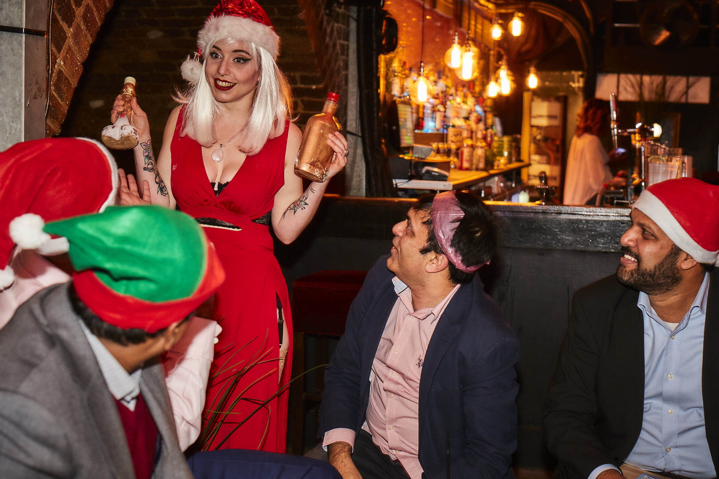 The Outré Christmas Party 2018