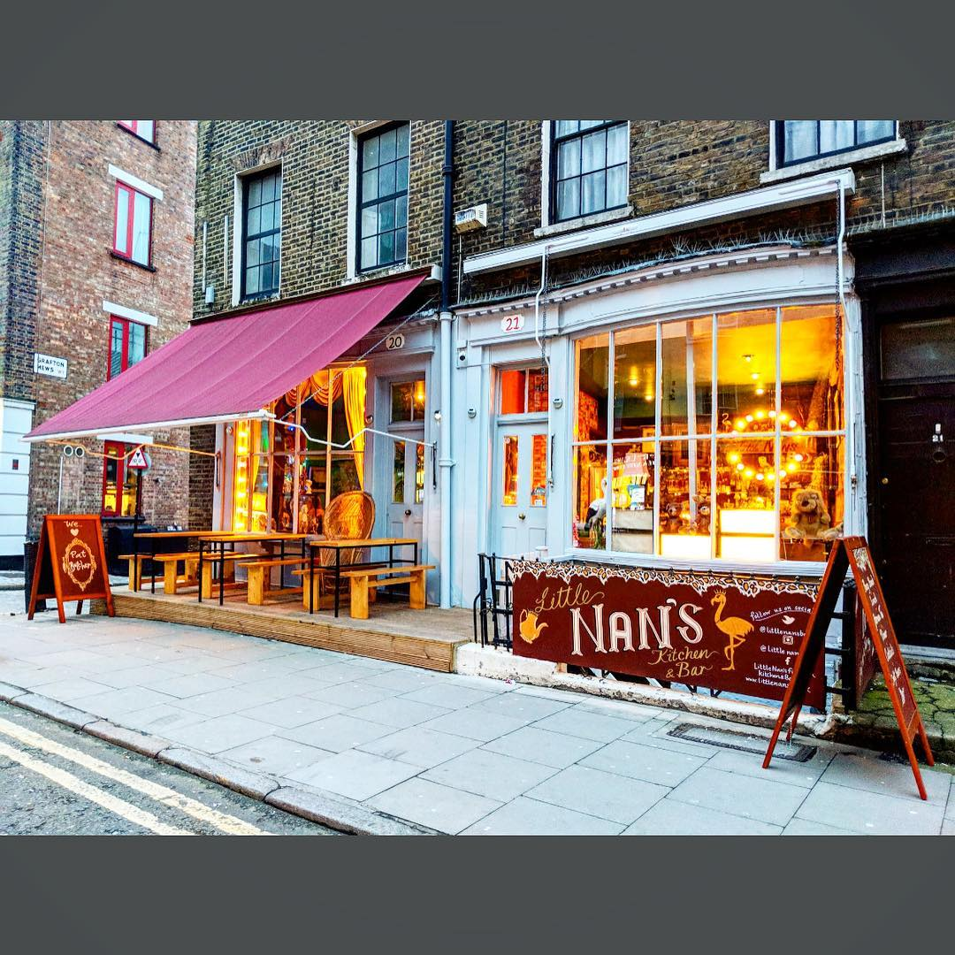 Flat Butcher's Brunch Weekender - Little Nan's Fitzrovia