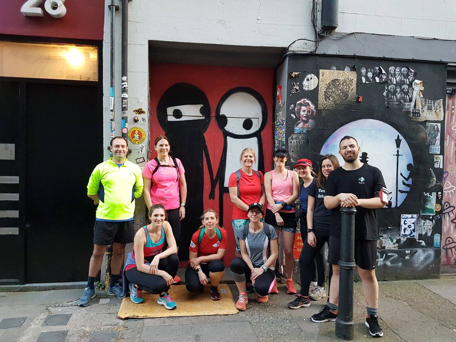 5k Street Art Running Tour of London