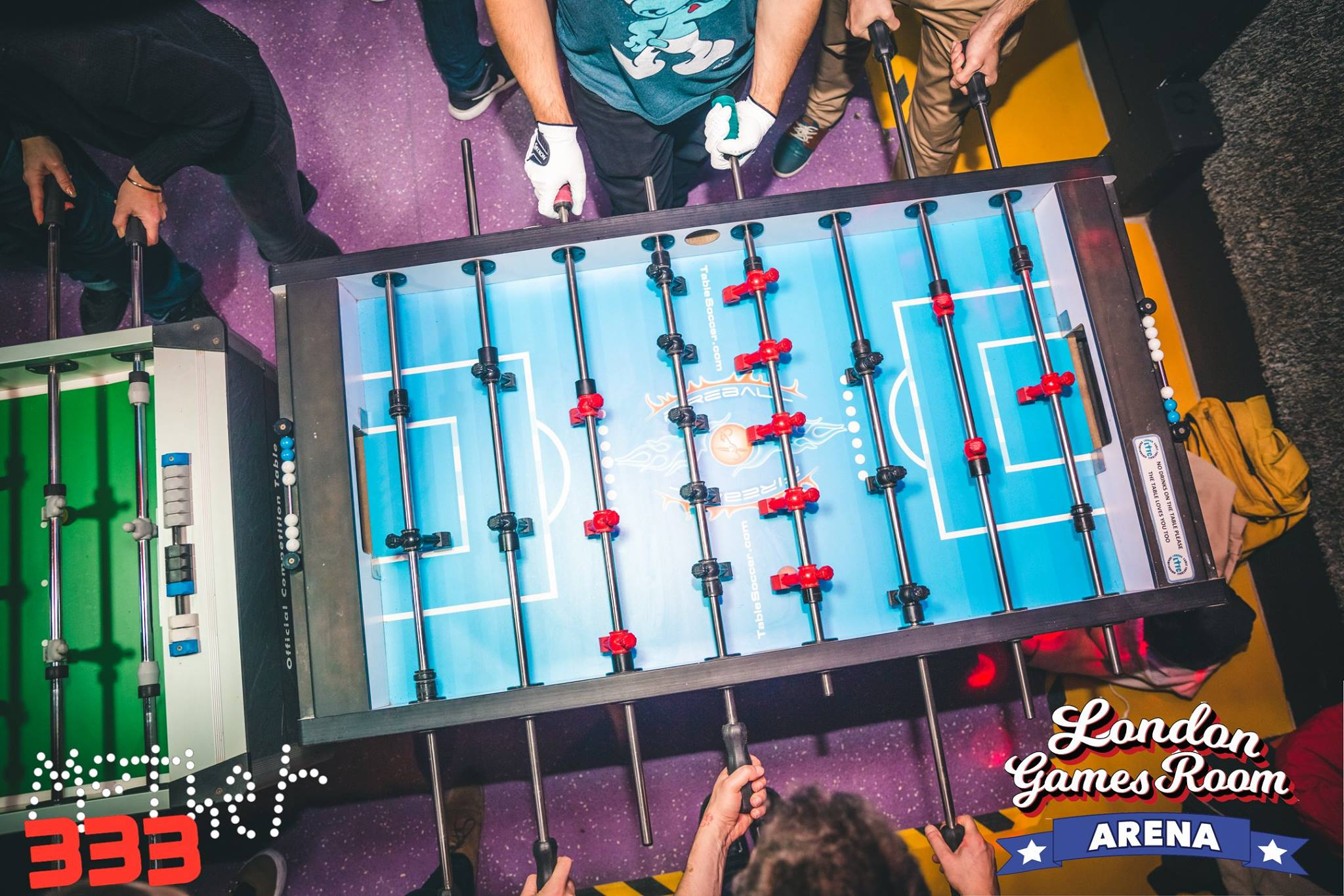 London Games Room - Monster D.Y.P Foosball Tournament