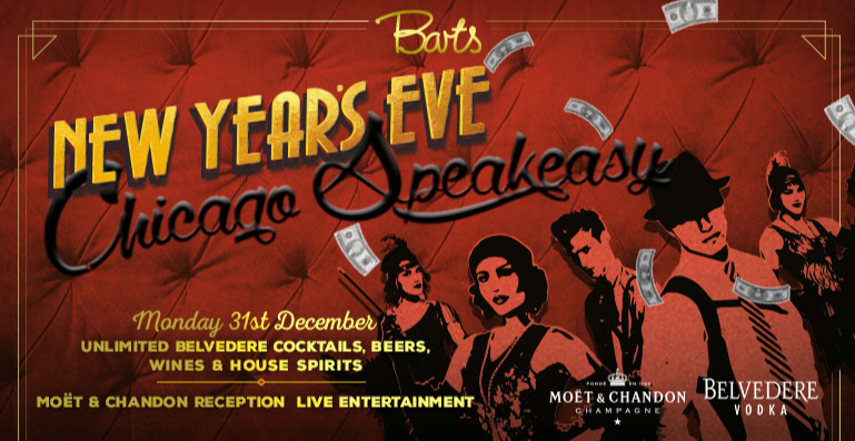 Barts' New Year's Eve Chicago Speakeasy