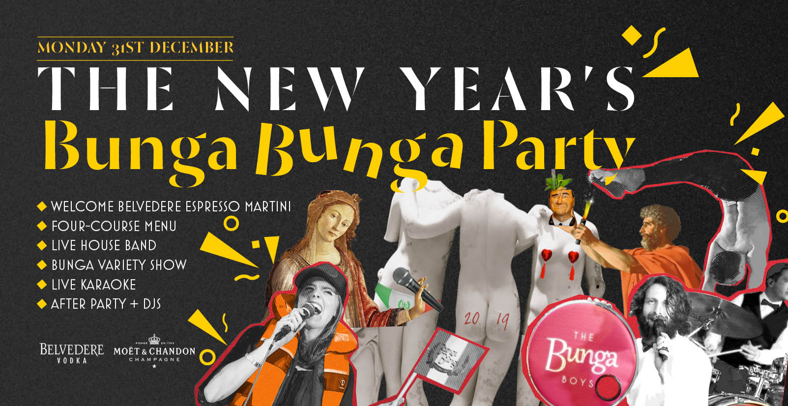 The New Year's Bunga Bunga Party