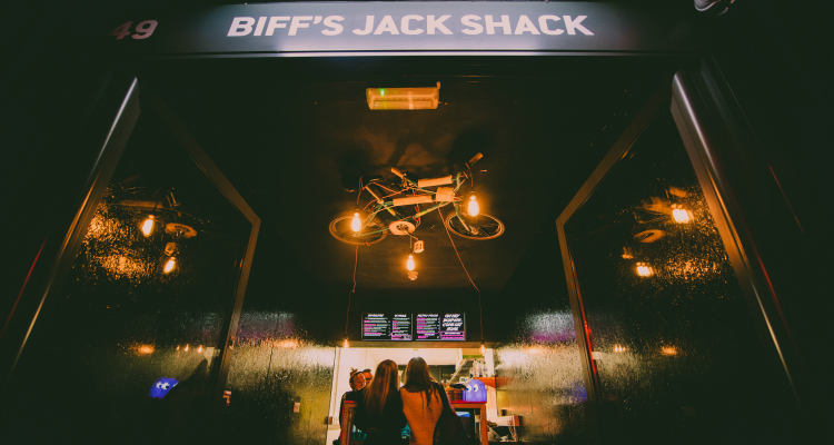 Biff's Jack Shack Boxpark | Biff's Jack Shack Review | DesignMyNight