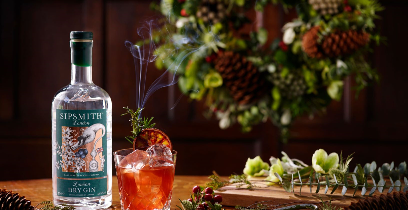 Botanical Wreathmaking & Festive Sipsmith Gin Cocktails