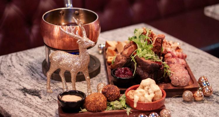 Christmas Dinner Fondue | Manchester Restaurant News | DesignMyNight