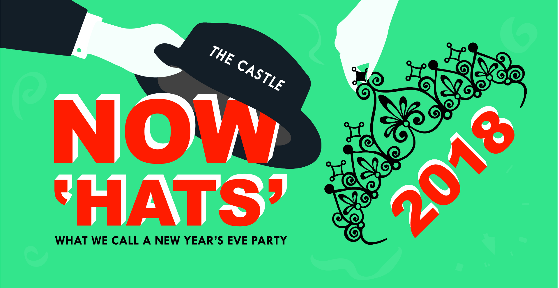 Now 'HATS' what we call a New Year's Eve Party