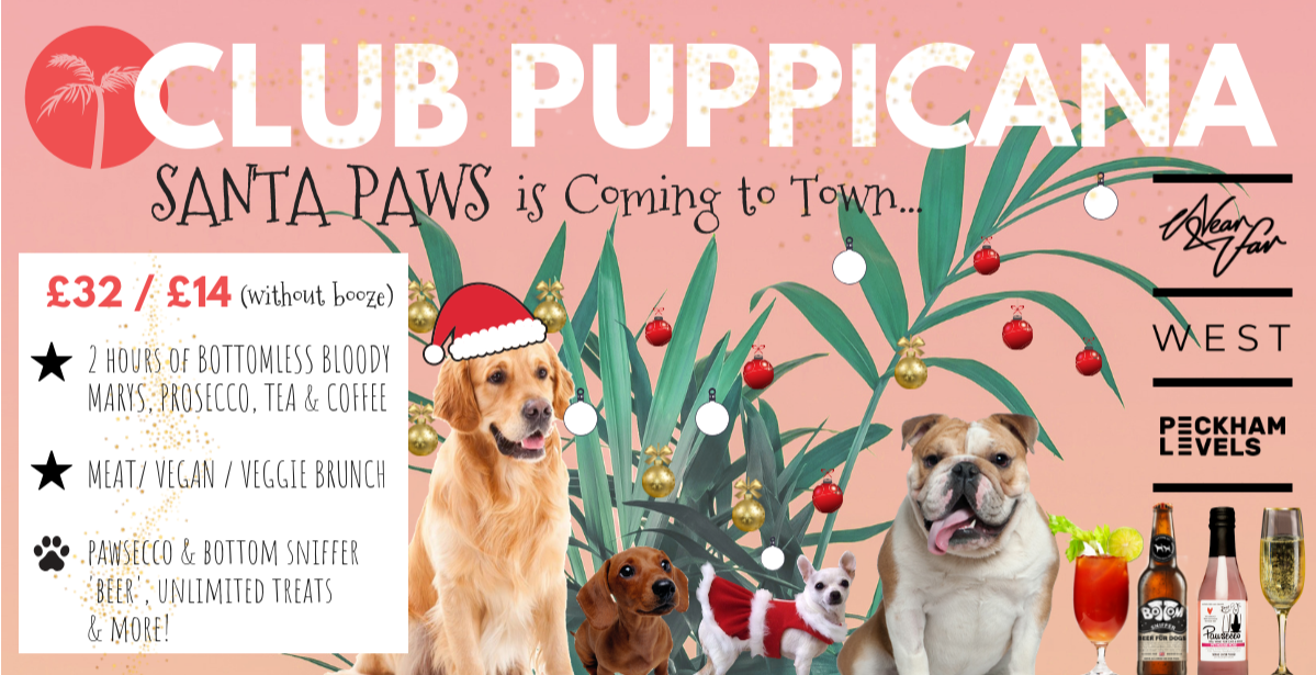 Club Puppicana - Santa Paws is Coming to Town