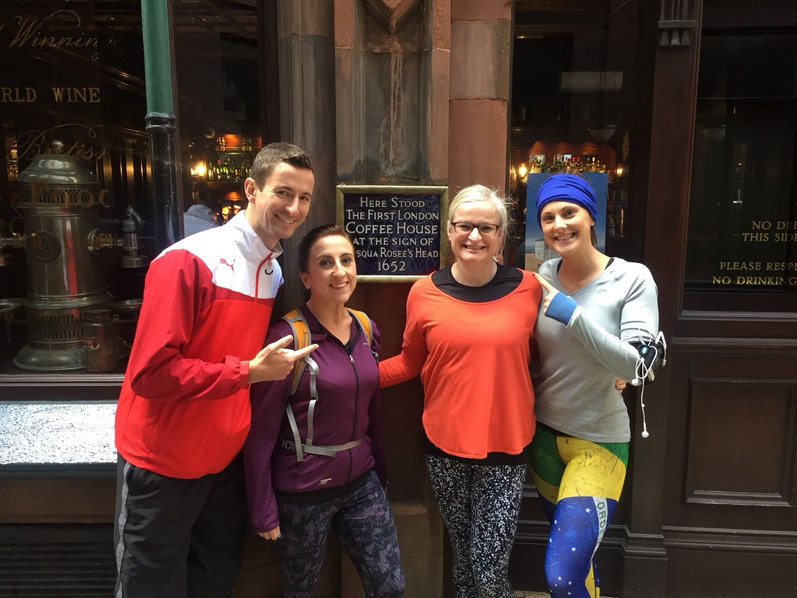 London's Coffee Revolution - Running Tour of London
