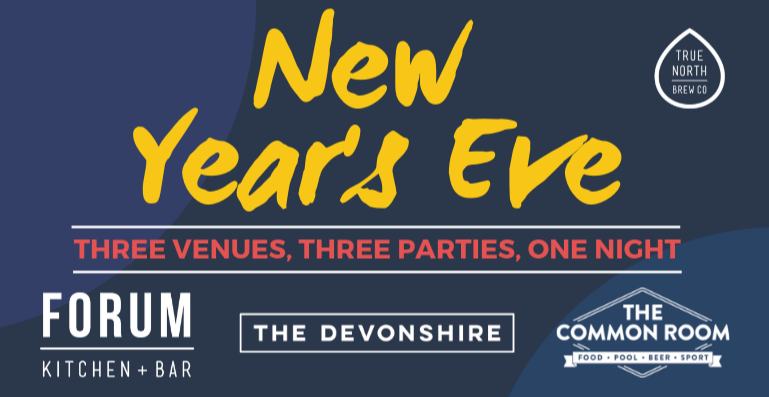 The Ultimate City Centre NYE