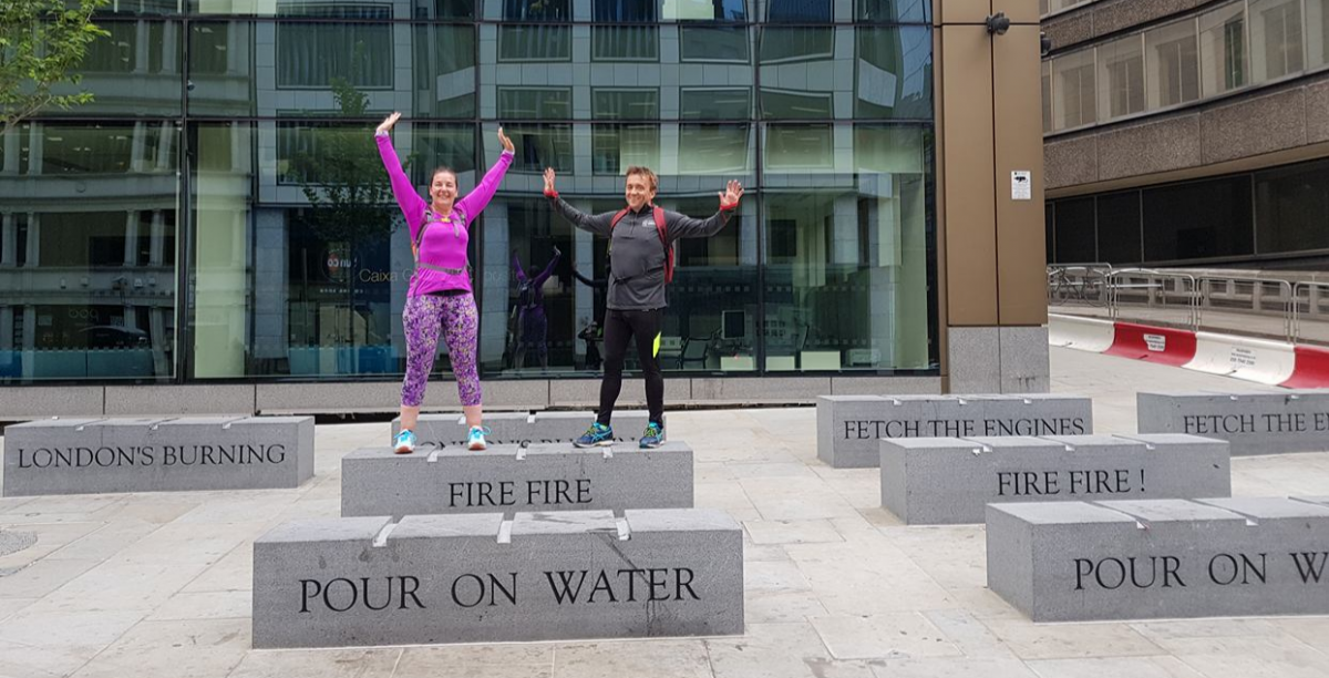 Gift Voucher: Great Fire of London Running Tour for 2