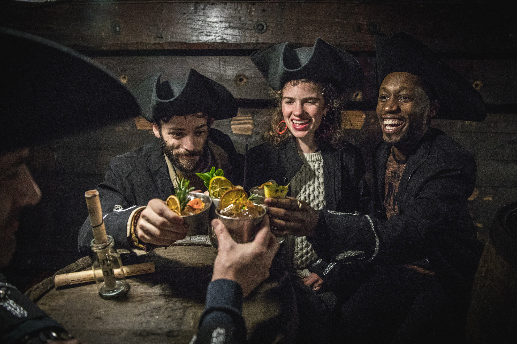 Pirates Of The Hidden Spirit: Cocktail Experience