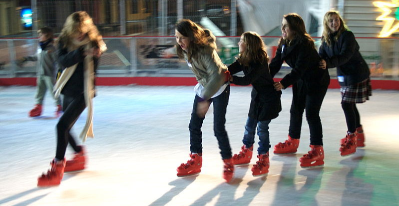 Ice Skating @ Elephant & Castle Ice Rink
