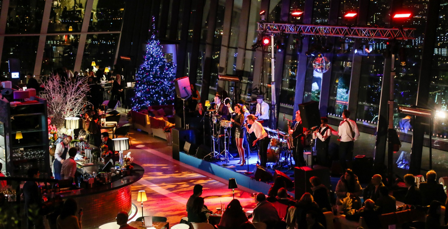 Christmas Hits: Live Music Nights at Sky Garden | City of ...