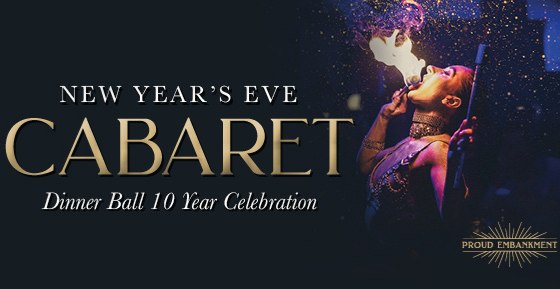 New Years Eve: 10 Years of Proud Cabaret