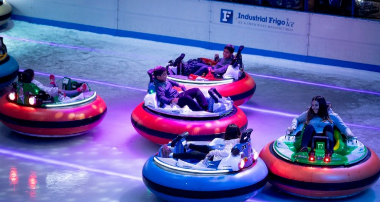 Bumper Cars on Ice Elephant and Castle Tickets