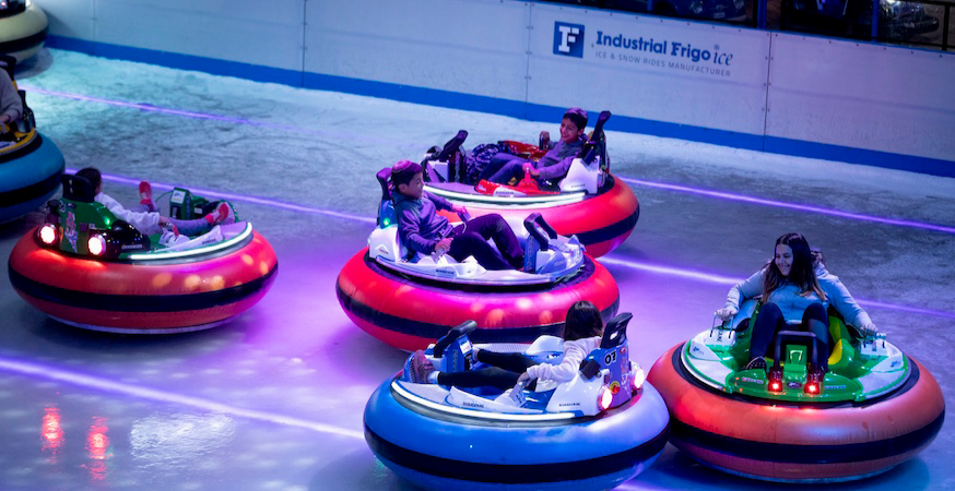 Bumper Cars on Ice @ Elephant & Castle Ice Rink