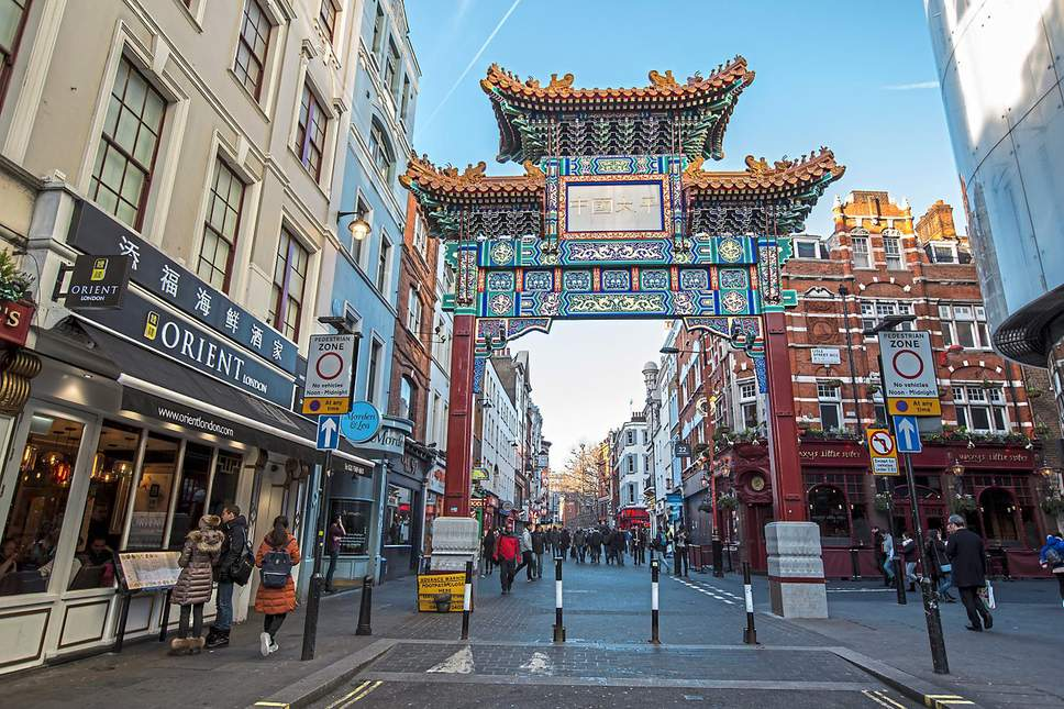 London's China Town Dim Sum and Dumpling Tour
