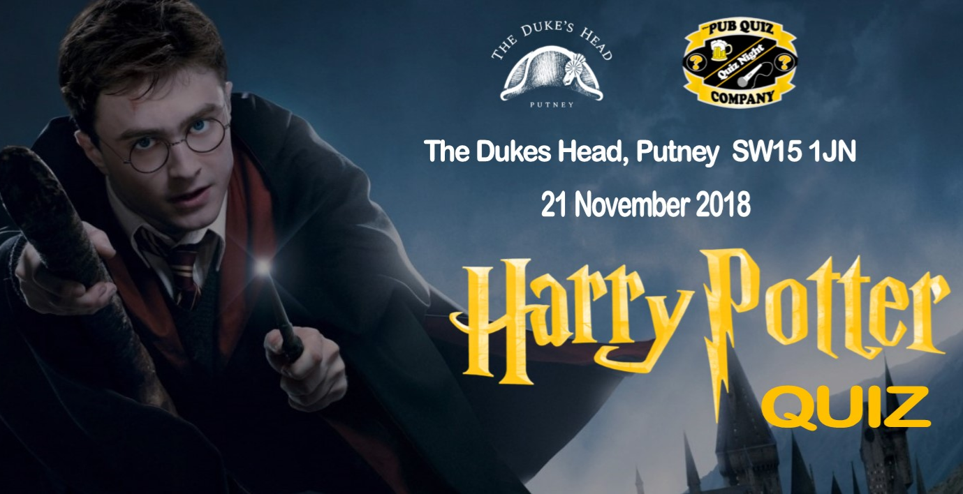 41c2b55cbfc2 Harry Potter Pub Quiz