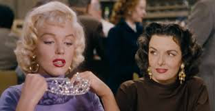Gentlemen prefer Blondes - Pop up cinema