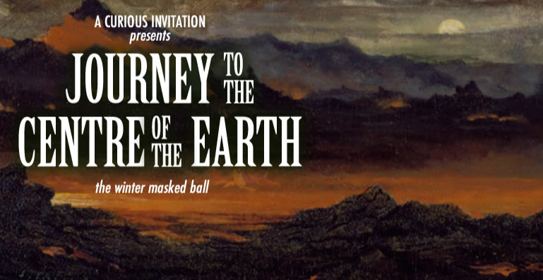 JOURNEY TO THE CENTRE OF THE EARTH - The Winter Masked Ball