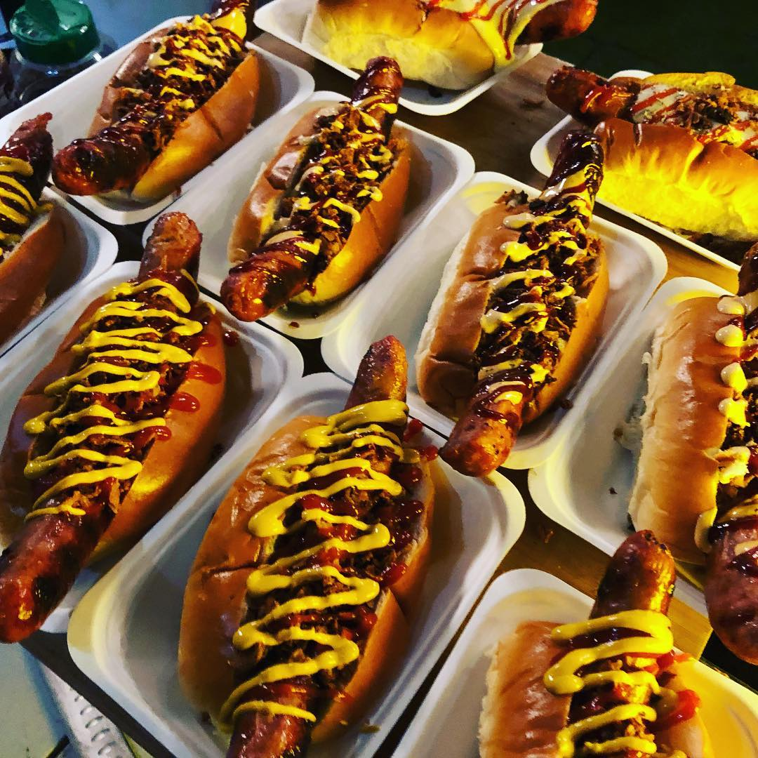 Fat Snags 5 Course Hot Dog Tasting Pop Up