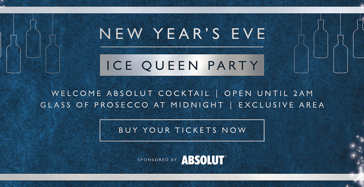 NYE Ice Queen Party - Windsor
