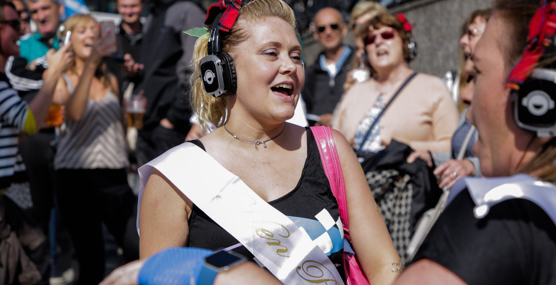 Silent Disco Hen Party Tour