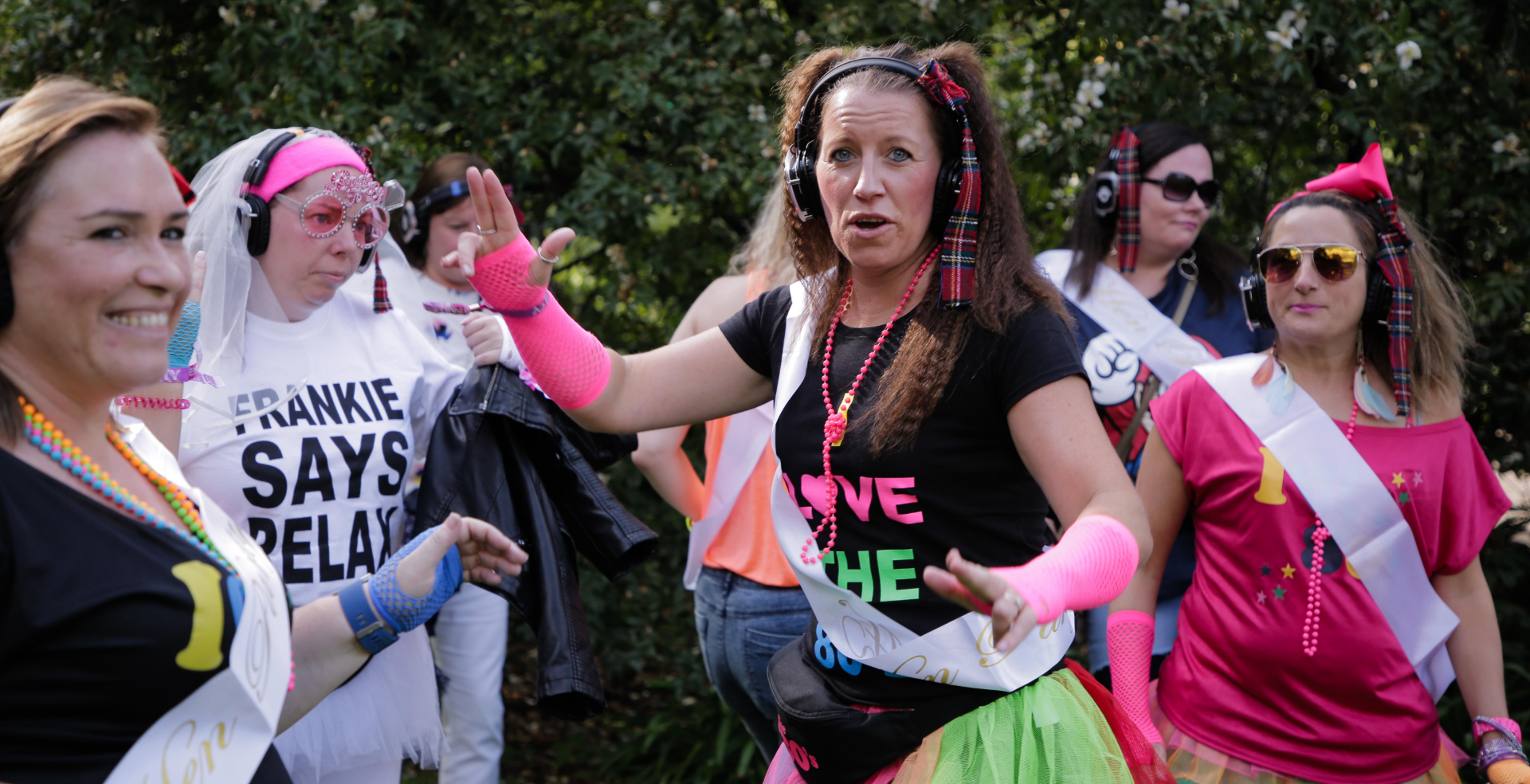 Silent Disco Hen Do Tour