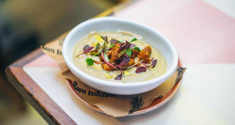 Cauliflower Soup | Rum Kitchen Review | DesignMyNight