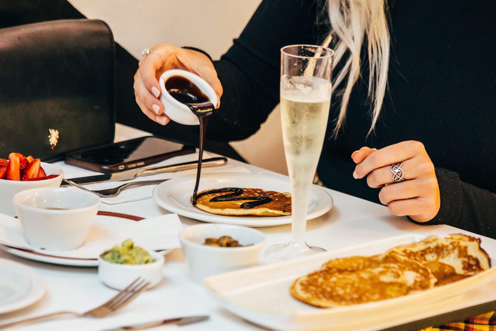 Pancakes and Prosecco Bottomless Brunch