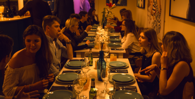 The Ultimate Dinner Party @The Little Blue Door