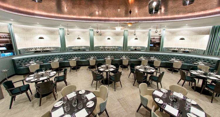 M Restaurant Victoria Interior